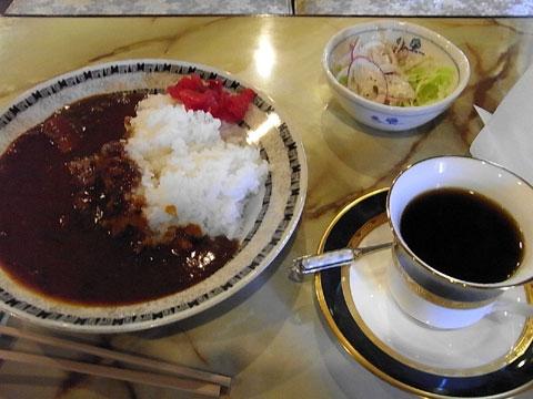 カレーライス(喫茶はりのき)