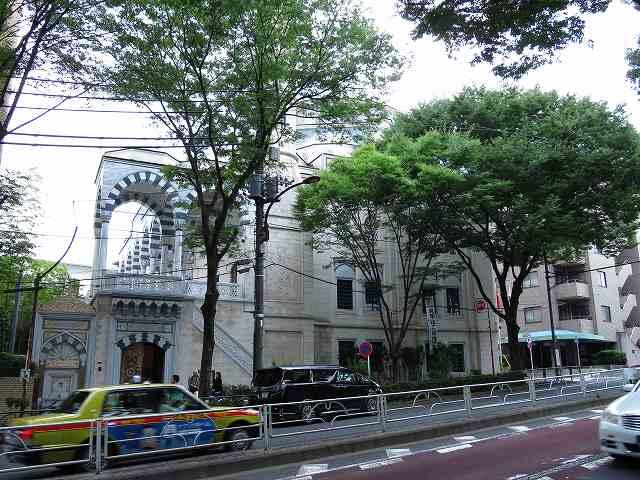 東京ジャーミィの外観