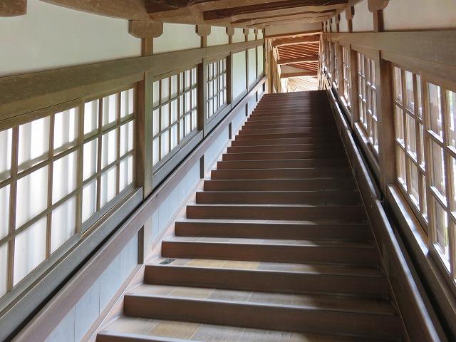 福井県永平寺の廊下