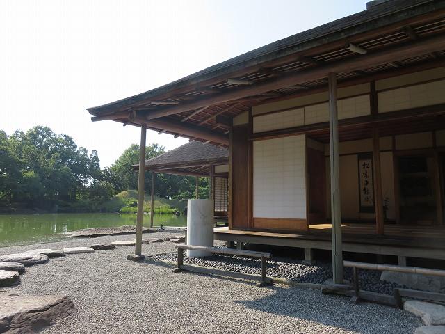 福井県の名勝、養浩館庭園