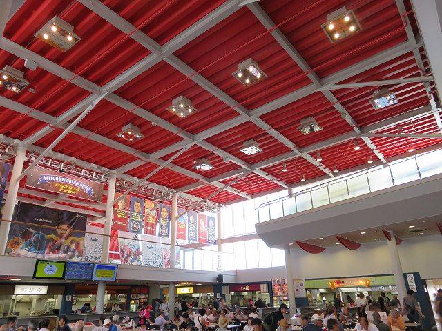 桐生競艇場1階フードコート
