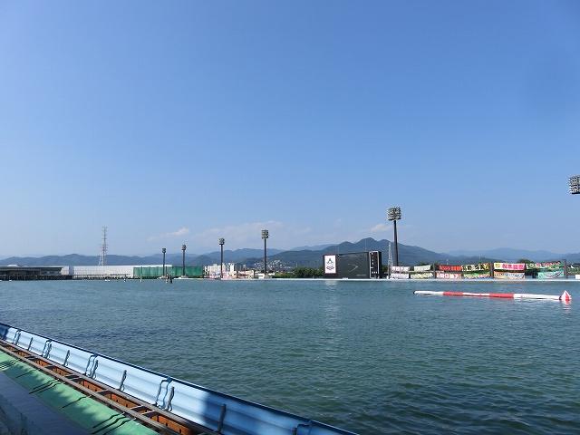 桐生競艇場水面