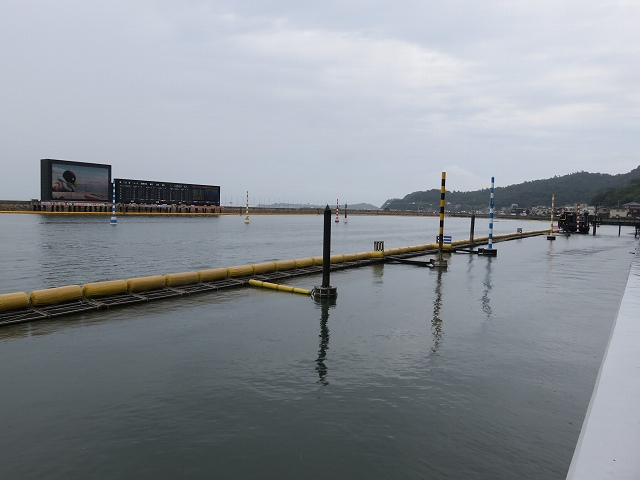 児島競艇場の競争水面