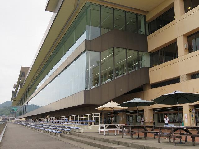 児島競艇場のスタンド