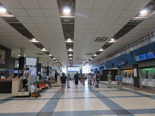 江戸川競艇場2階投票所