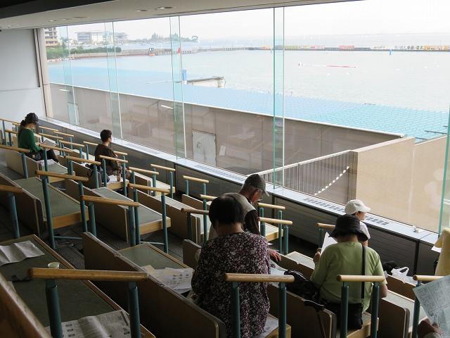 びわこ競艇場2階シルバーシート