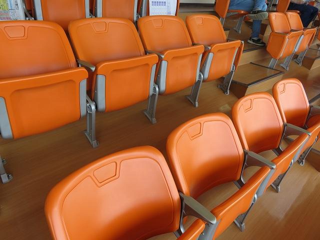 浜名湖競艇場の2階一般席