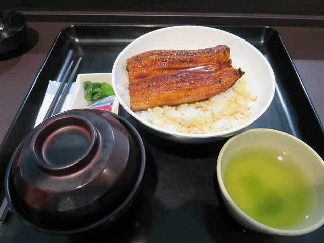 浜名湖競艇場ロイヤルルームのレストラン「シャトーレ」のうな丼