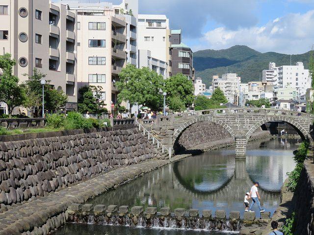 長崎市のめがね橋