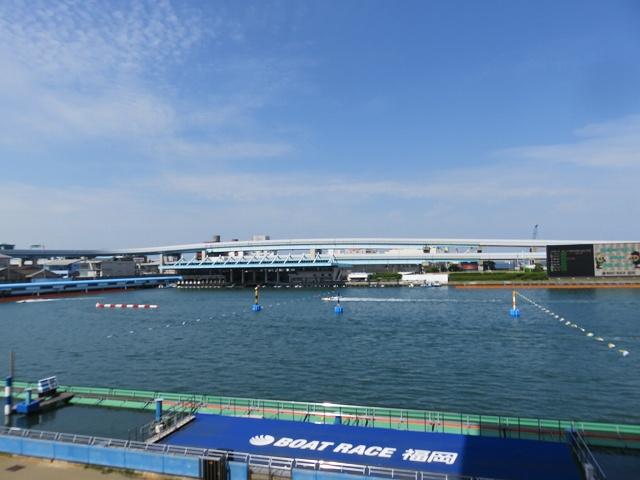 福岡競艇場の水面