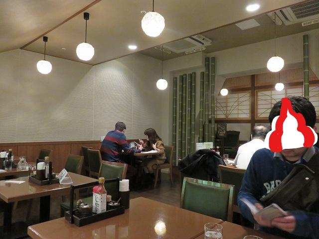 江戸川競艇場の指定席MIYABIのレストラン「takebue」