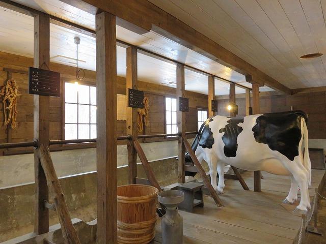 北海道開拓の村の旧小川家酪農畜舎