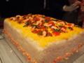 お寿司のウエディングケーキ