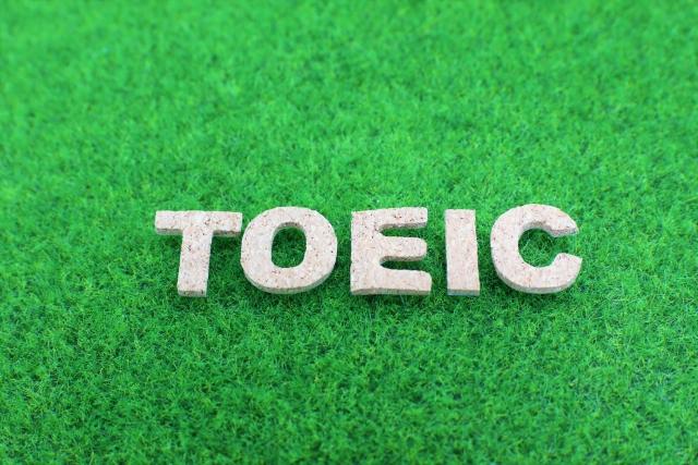 TOEICという文字が表示された画像