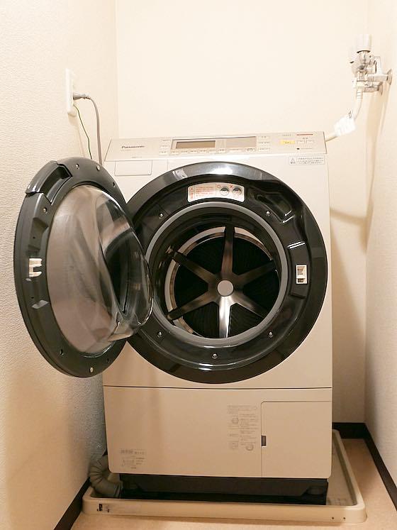 パナソニックの洗濯乾燥機NA-VX8600