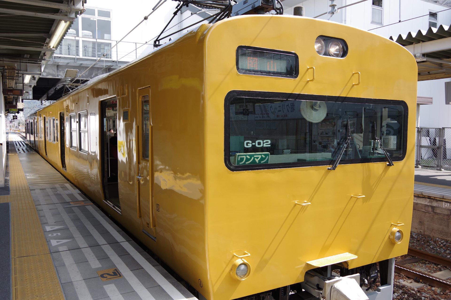 播州赤穂駅にて