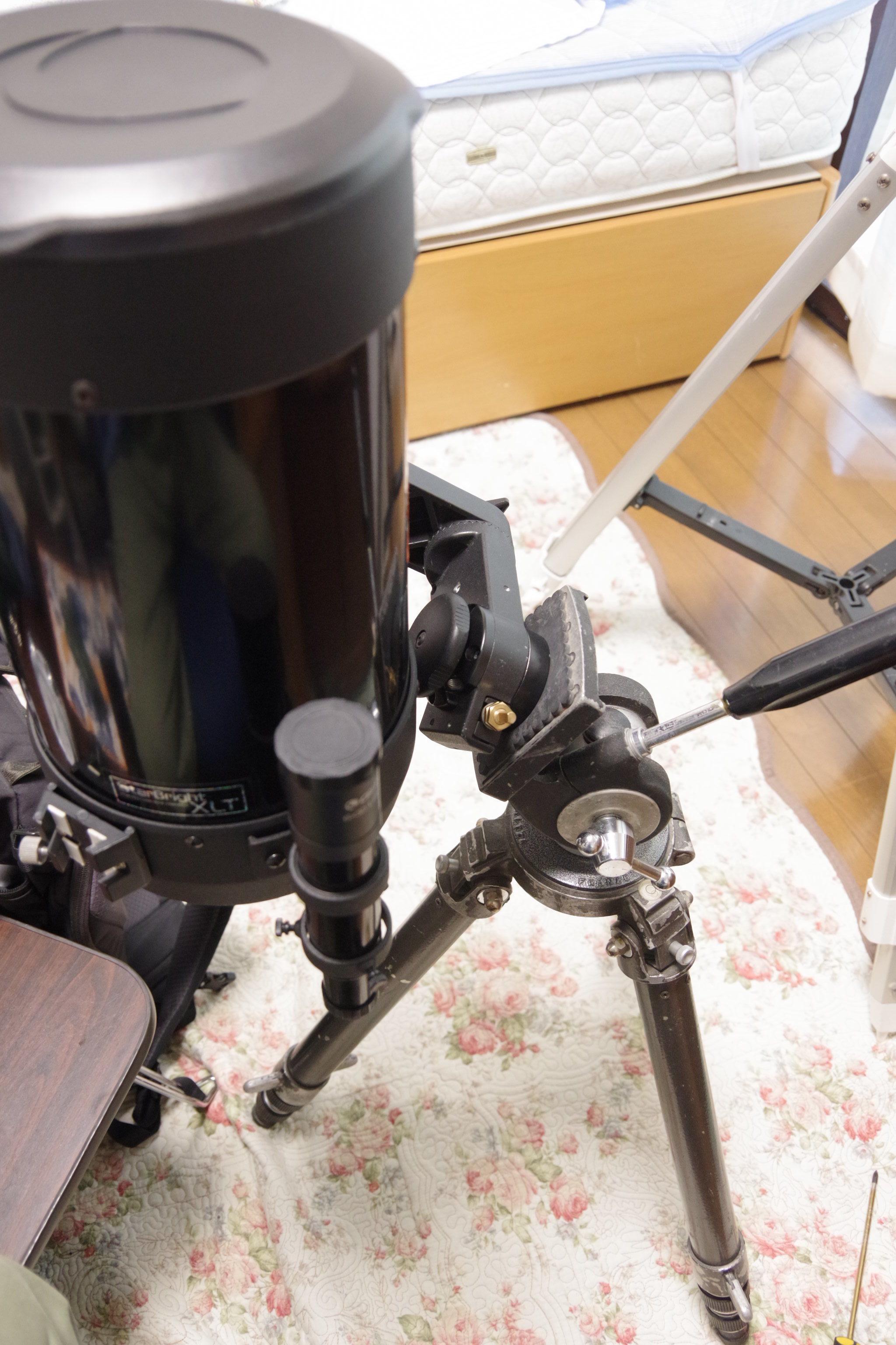 C6鏡筒を赤道儀モードで②