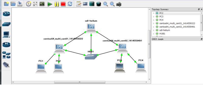 Mininetに物理インタフェースを接続してVXLAN over OpenFlowな環境を ...