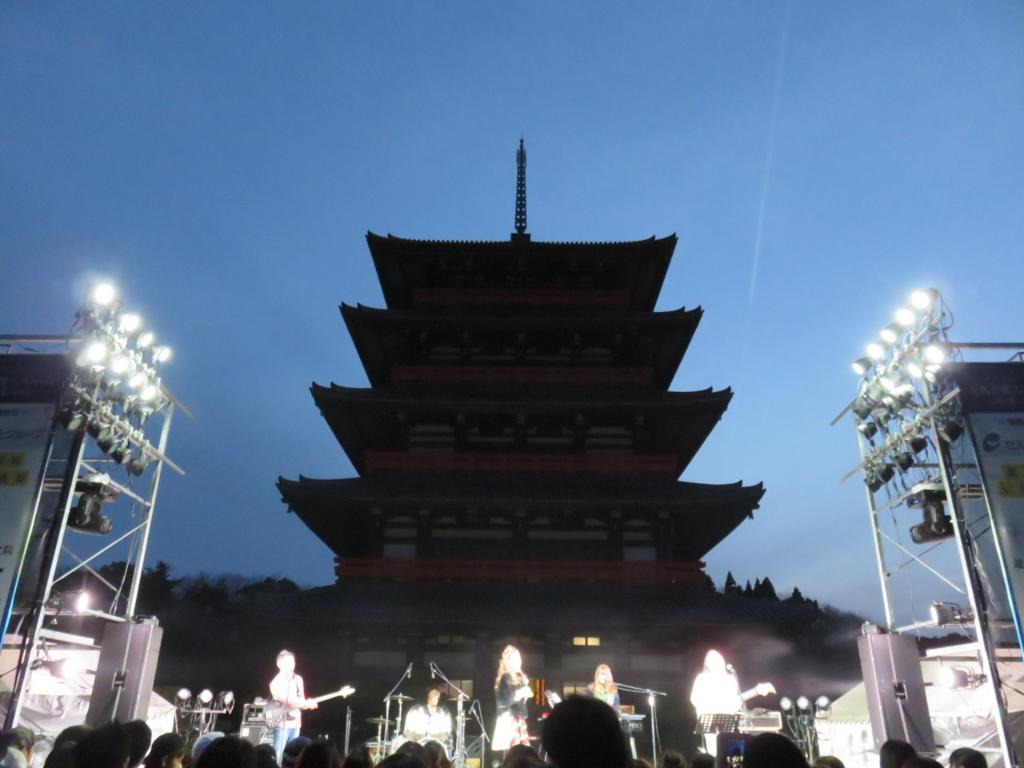 玉名音楽フェスティバルステージ