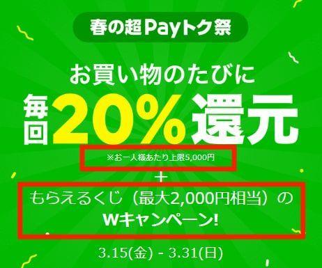 LINE Payの還元率