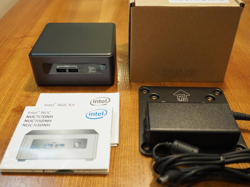 Intel NUC(NUC7i7DNHE)セットアップ - 上を向いて歩こう!