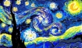 ゴッホの「星月夜」 2015/07/08