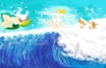 BIG WAVE!!な ヴィーナスの誕生