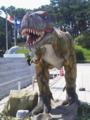 大洗水族館にいた可動式恐竜