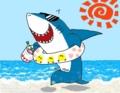 サメくんの夏休み