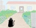 夢で見た黒猫