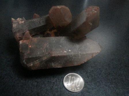 ココア水晶(茶水晶)