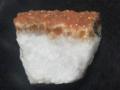 逆さプリン石(紫水晶を熱処理した黄水晶)