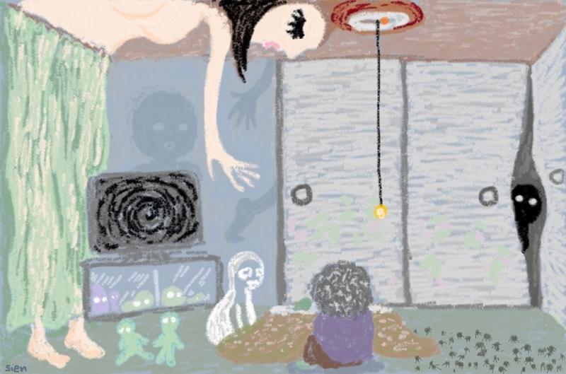 母の幻視の世界