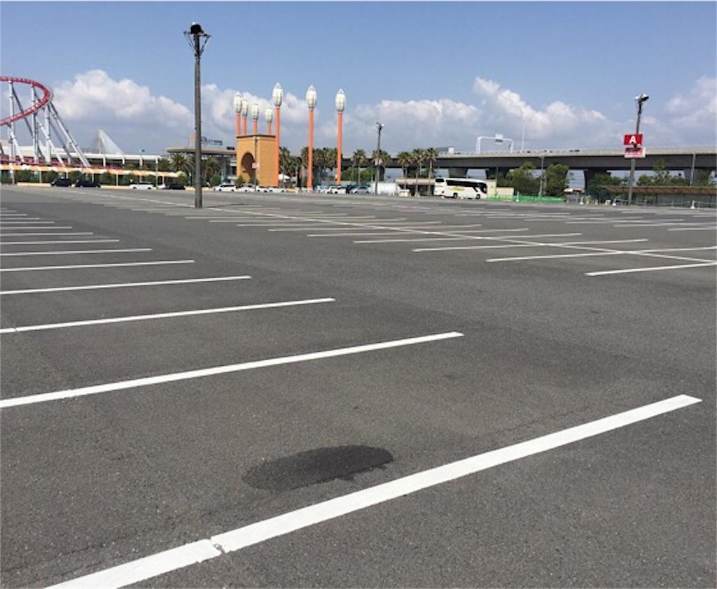 ナガシマスパーランド駐車場