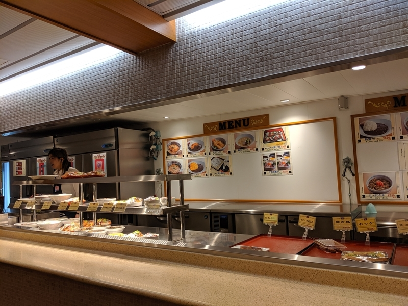 オレンジフェリー(大阪→別府)レストラン