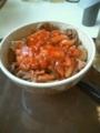 すき家のキムチ牛丼