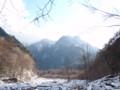 戸台川を遡る
