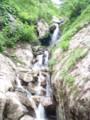 小滝が連続する