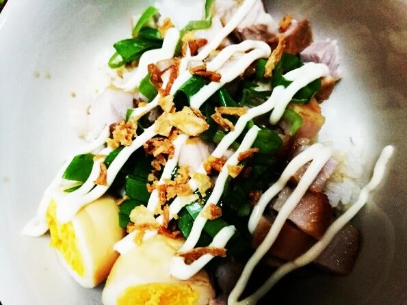 豚の角煮 丼 人気レシピ