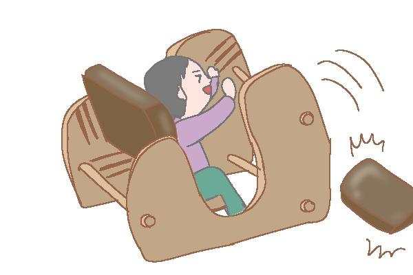keepy プロポーションチェア 背筋が伸びる椅子 イラスト ブログ