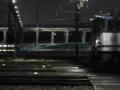 E5系がいる夜の田端