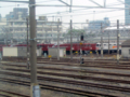 電気機関車がいる尾久の風景