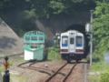 三陸鉄道36-209@小本駅の先