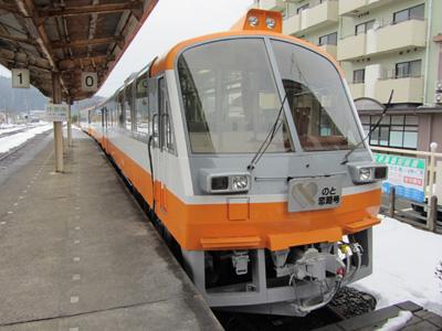 のと恋路号@のと鉄道穴水駅0番線