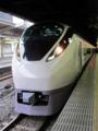 特急「復興いわきフラガール号」(E657系K-1編成)@上野駅