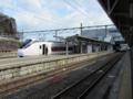 特急「復興いわきフラガール号」(E657系K-1編成)@いわき駅
