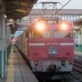 寝台特急日本海(EF81 108)@新津駅