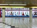 魔法少女リリカルなのは The MOVIE 2nd A's 東京メトロ新宿駅・超大型看板
