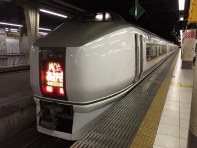 あかぎ6号(651系)@上野駅(2015-03-15)