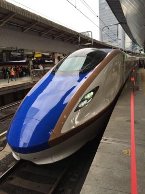 はくたか567号(W7系W1編成)@東京駅